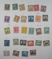 US STAMP ISSUES OF 1922 TO 1932 551 TO 573 AND 684 685 694 6