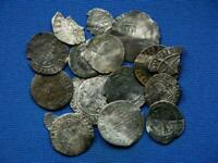 COLLECTION OF 15 HAMMERED ENGLISH COINS