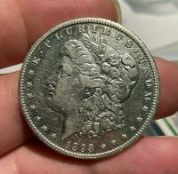 1893 O MORGAN SILVER DOLLAR $1 EXTRA FINE EXTRA FINE  DETAILS CLEANED