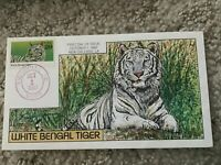 2709 WHITE BENGAL TIGER COLLINS FDC