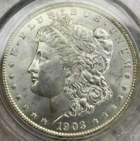 1903-O MORGAN DOLLAR KEY DATE PCGS CERTIFIED MINT STATE 64 - OGH