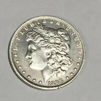 1888 S US UNITED STATES MORGAN $1 SILVER ONE DOLLAR BETTER DATE COIN USMD8842