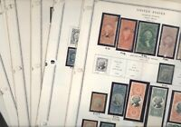 US INCLUDES PROOFS FANTASTIC REVENUE  STAMP COLLECTION  MOUNTED ON PAGES