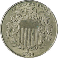 1882 SHIELD NICKEL GREAT DEALS FROM THE EXECUTIVE COIN COMPANY
