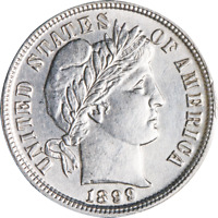 1899-P BARBER DIME GREAT DEALS FROM THE EXECUTIVE COIN COMPANY