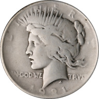 1921 PEACE DOLLAR GREAT DEALS FROM THE EXECUTIVE COIN COMPANY