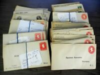 US EXCELLENT ASSORTMENT OF 200  OLD POSTAL STATIONERY & POST