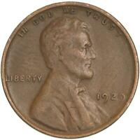 1929 LINCOLN WHEAT CENT FINE PENNY FN