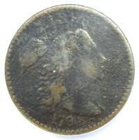 1794 LIBERTY CAP LARGE CENT 1C COIN S-44 - NGC VF DETAILS NCS -  COIN