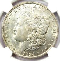 1894-O MORGAN SILVER DOLLAR $1 - CERTIFIED NGC AU DETAILS -  DATE COIN