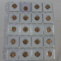 LOT OF  20   LINCOLN MEMORIAL CENTS ERRORS OFF CENTER 1998 1