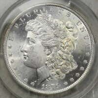 1879-O MORGAN DOLLAR, CHOICE UNCIRCULATED PCGS/CAC MINT STATE 63, TOUGHER COIN