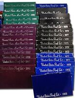1968 1998 FIRST 31 YEAR UNITED STATES PROOF SETS COMPLETE SE