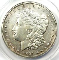 1894-S MORGAN SILVER DOLLAR $1 COIN - CERTIFIED ANACS AU50 DETAILS -  DATE