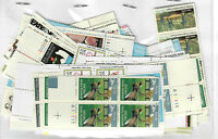 US $60.00 FACE MINT/NH POSTAGE LOT OF 20 VALUES   LOTS OF PL