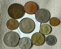 LOT OF  11   COINS FROM AUSTRALIA