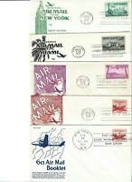 1940'S AIRMAIL FDC ANDERSON