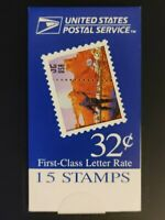 US STAMPS SPACE DISCOVERY MDI BOOKLET OF 15. SCOTTBK274. FRE