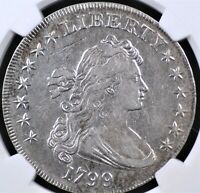 1799 DRAPED BUST DOLLAR NGC EXTRA FINE  DETAIL