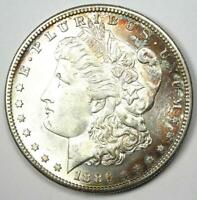 1886-S MORGAN SILVER DOLLAR $1 COIN -  DATE - UNCIRCULATED DETAILS UNC MS