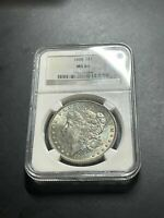 1888-P NGC MINT STATE 63 MONSTER TONED OBV SILVER MORGAN DOLLAR SLAB805