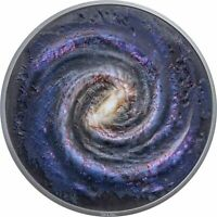 PALAU 2021  SPACE THE FINAL FRONTIER  THE MILKY WAY  $20 SIL