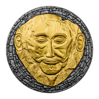 CAMEROON 2021  MASK OF AGAMEMNON  3000 FRANCS SILVER COIN 3