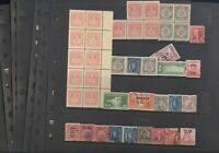 PHILIPPINES CANAL ZONE EXCELLENT ASSORTMENT OF STAMPS IN STO