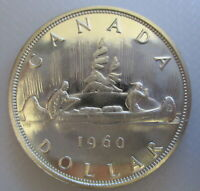 1960 CANADA VOYAGEUR SILVER DOLLAR PROOF LIKE COIN