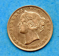 CANADA NEWFOUNDLAND 1880 $2 TWO DOLLARS GOLD COIN   REVERSE SCRATCH
