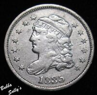 1835 CAPPED BUST HALF DIME <> FINE