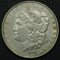 TOP 100 VAM 223 WASHED OUT 'L' 1878 REVERSE OF 1879 MORGAN DOLLAR SHIPS FREE