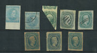 US COLLECTION OF USED AND UNUSED CONFEDERATE STATES
