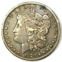 1879-CC MORGAN SILVER DOLLAR $1 CARSON CITY COIN - CHOICE EXTRA FINE  DETAILS SCRATCHED