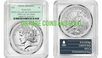 2021 P PEACE SILVER DOLLAR PCGS MS 70 FIRST DAY ISSUE GREEN