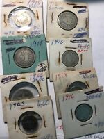 8 WORLD SILVER COINS IN THIS COLLECTION
