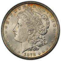 1878-CC MORGAN DOLLAR, CHOICE UNCIRCULATED, PCGS MINT STATE 63, SOME COLOR