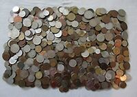 10  POUNDS OF OLD WORLD COINS  POSS. A SCATTERING OF TOKENS