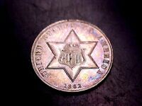 1862 3C THREE CENT SILVER PIECE PROOF     BUY NOW OFFER