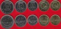 KUWAIT SET OF 5 COINS: 5 100 FILS 1962 2012 UNC