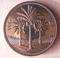 1990 IRAQ 50 FILS   AU/UNC   GULF WAR SADDAM ERA  GORGEOUS COIN  FREE SHIP