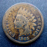 UNITED STATES 1865 CIVIL WAR INDIAN HEAD CENT