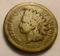 1860 CN INDIAN CENT LINCOLN ELECTION POINTED BUST