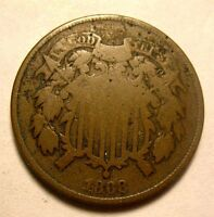 1868 TWO CENT NICE
