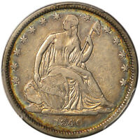 1840 50C PCGS VF30 REVERSE OF 1839   LIBERTY SEATED HALF DOLLAR