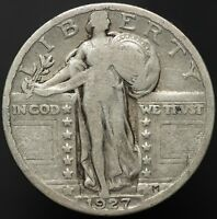 1927 25 CENTS STANDING LIBERTY QUARTER
