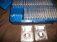 CERTIFIED KENNEDY HALF DOLLARS 1977 TO 2011 IN PROOF 69 36 COINS ALL CAMEO