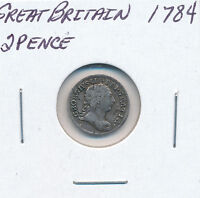 GREAT BRITAIN TWOPENCE 1784