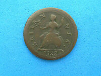 GREAT BRITAIN 1722 COPPER FARTHING KING GEORGE I 23.5 MM 4.9 GRAMS
