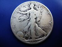 VERY NICE BETTER DATE 1935 D WALKING LIBERTY HALF IN FINE CONDITION.
